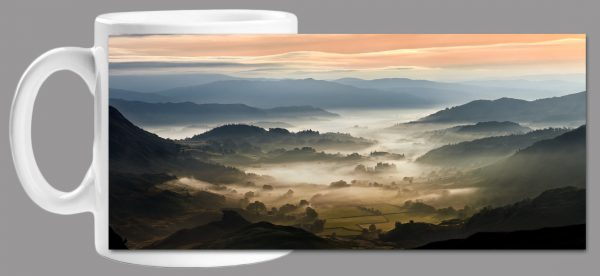 Little Langdale Mists Mug