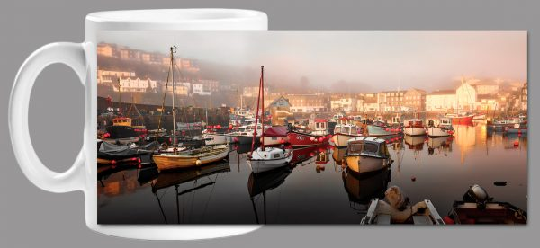 Mevagissy Golden Morning Mug