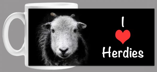 I Love Herdies Mug Wrap
