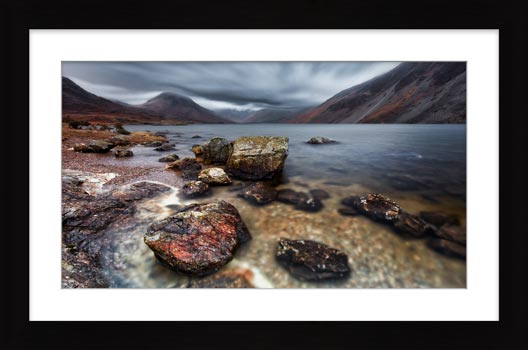 Wast Water Middle Earth - Framed Print with Mount