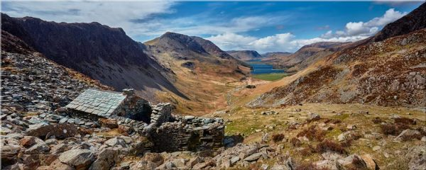 Warnscale Bothy and Buttermere Valley - Canvas Print