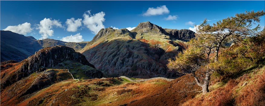 Langdales and Side Pike - Lake District Print