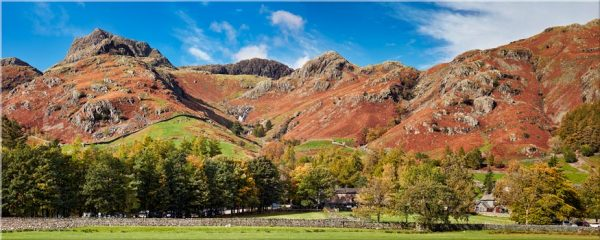 Dungeon Ghyll Panorama - Canvas Print