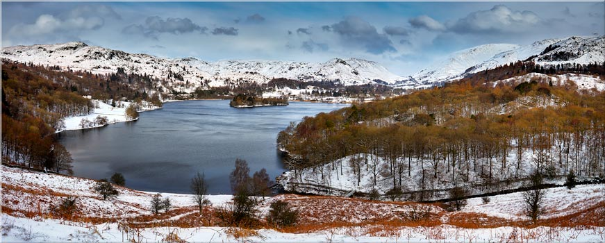 Grasmere and Rydal Water Canvas Gallery