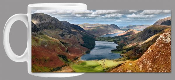 Buttermere From Fleetwith Pike Mug Wrap