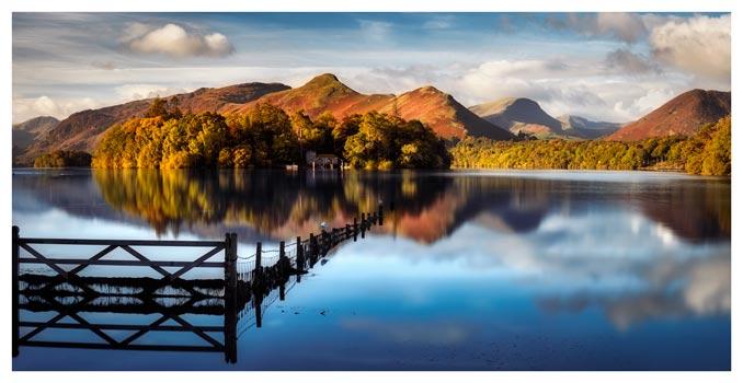 Derwent Water Gate - Lake District Print