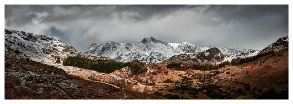 The Langdales from Castle Howe - Prints of Lake District