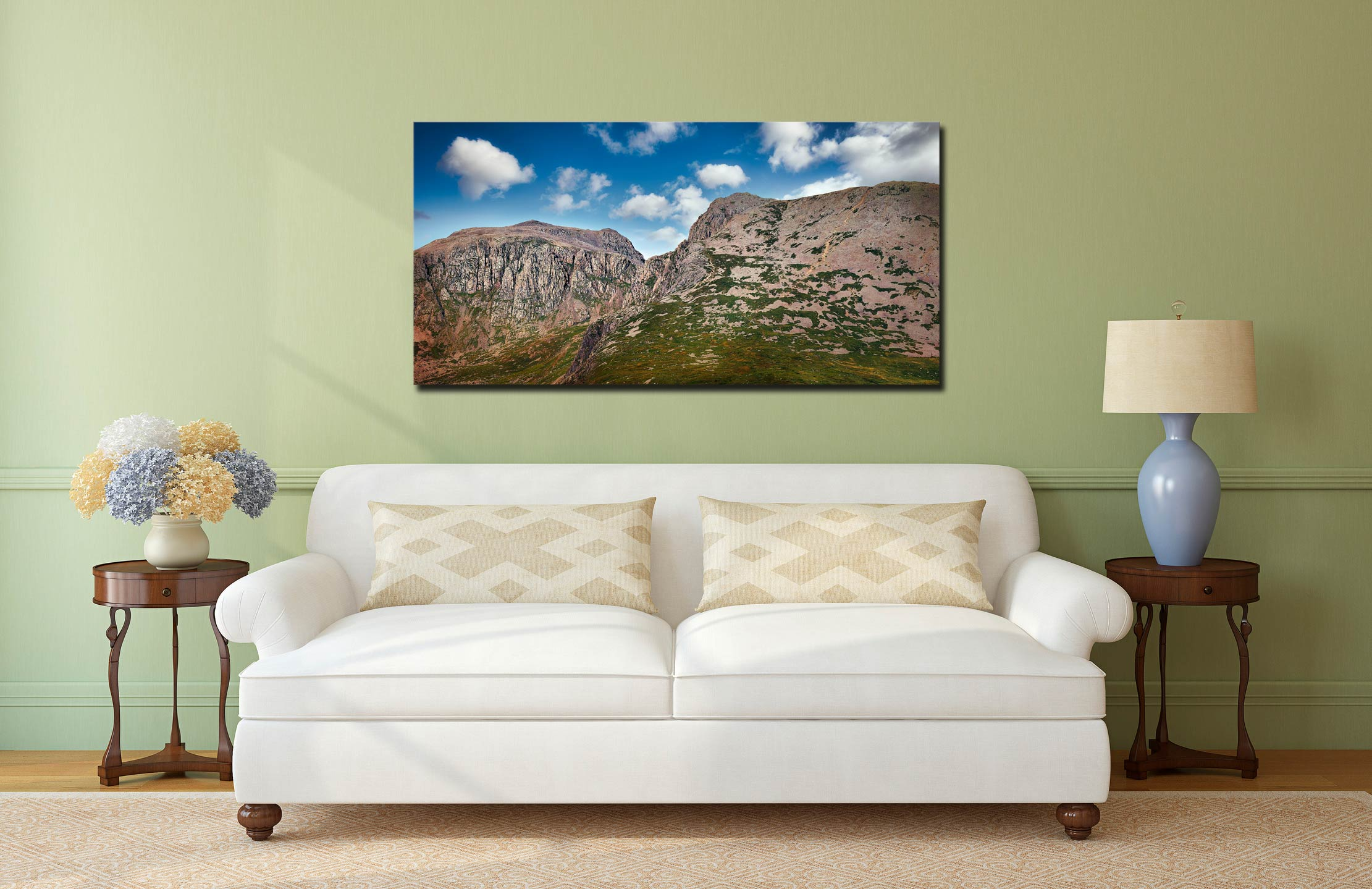 Sca Fell Pikes - Canvas Print on Wall