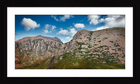 Sca Fell Pikes - Framed Print with Mount