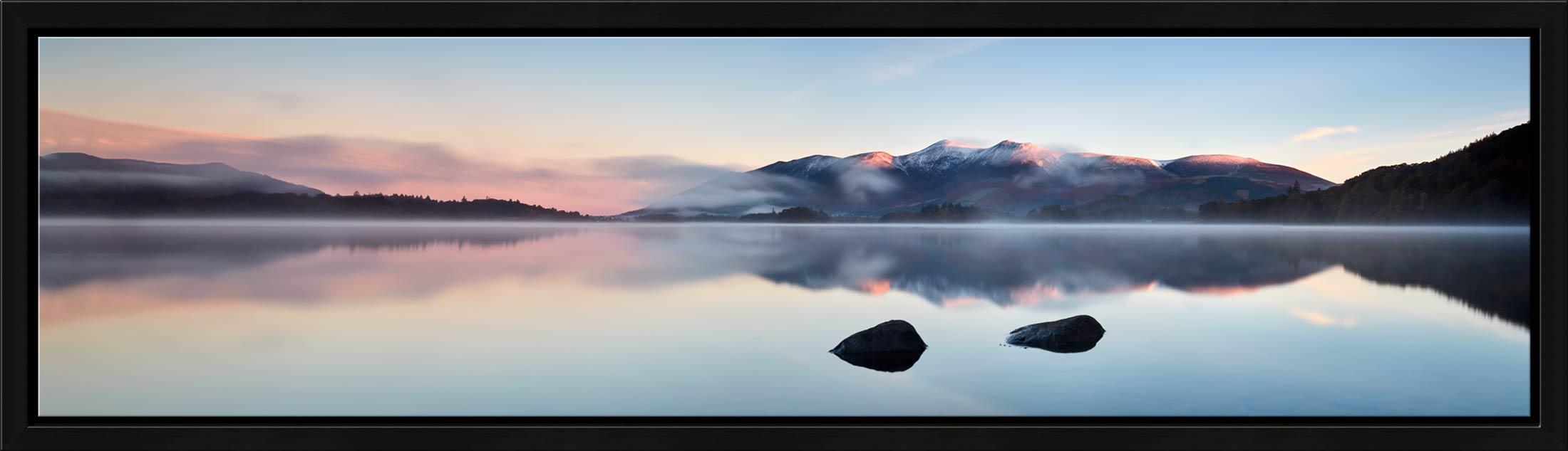 A New Day Dawns at Derwent Water - Modern Print