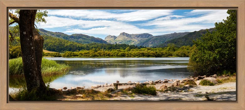 Elterwater Summer Afternoon - Modern Print