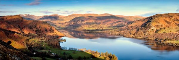 Morning Light on Ullswater - Modern Print