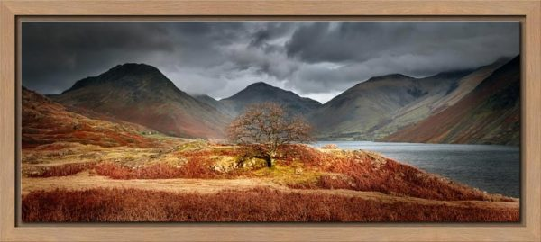 Darkness and Light at Wast Water - Modern Print