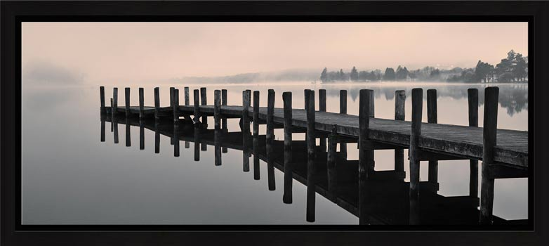 Coniston Jetty - Modern Print