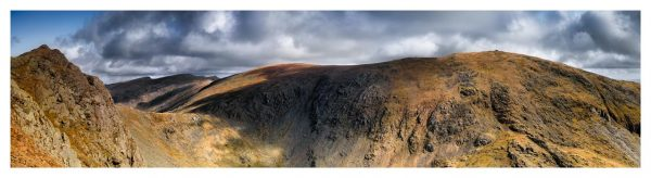 Dow Crag and Old Man Coniston - Lake District Print