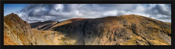 Dow Crag and Old Man Coniston - Modern Print