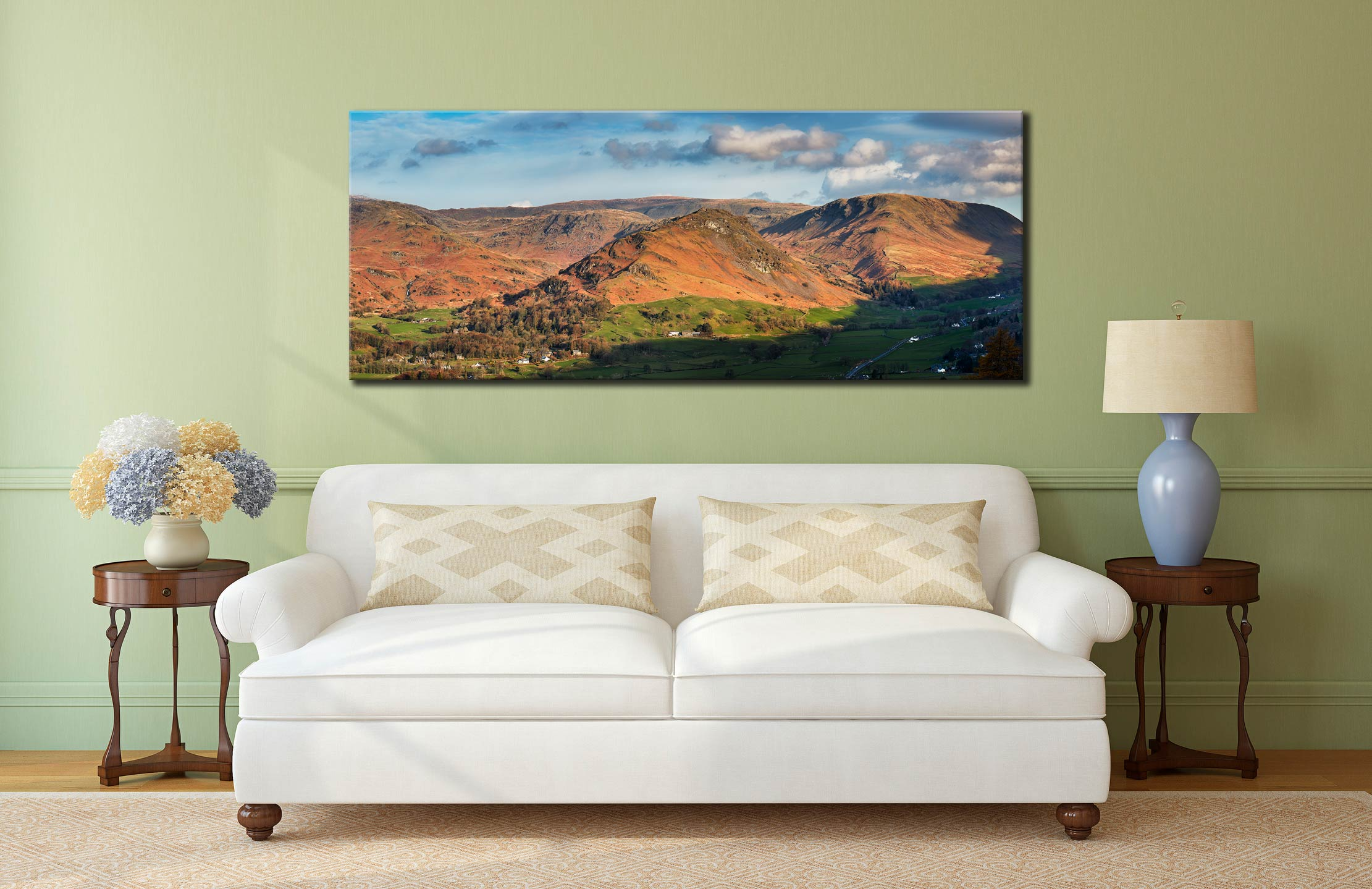 Helm Crag - Canvas Print on Wall