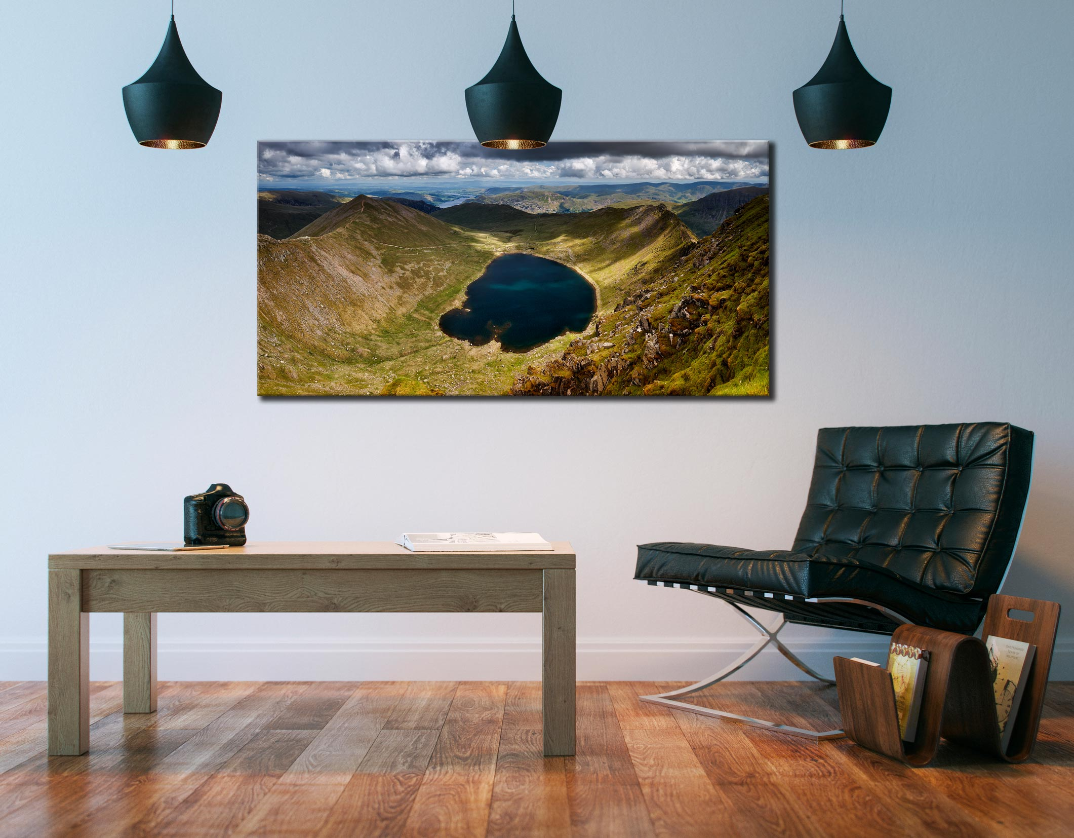 Red Tarn - Canvas Print on Wall