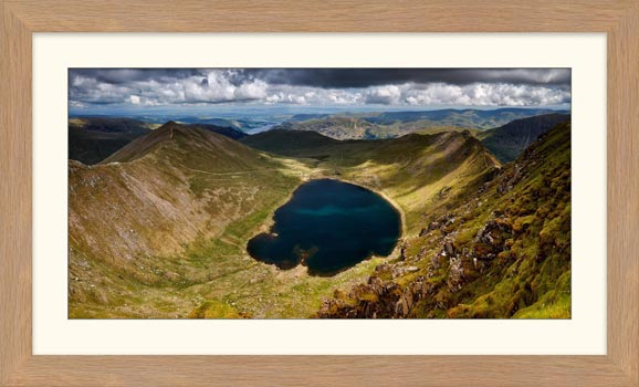 Red Tarn - Framed Print with Mount
