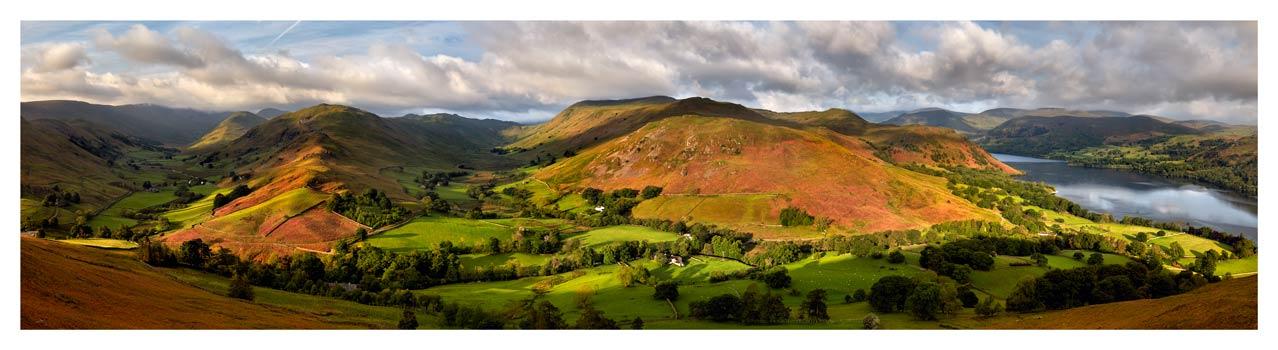 Hallin Fell Panorama - Lake District Print