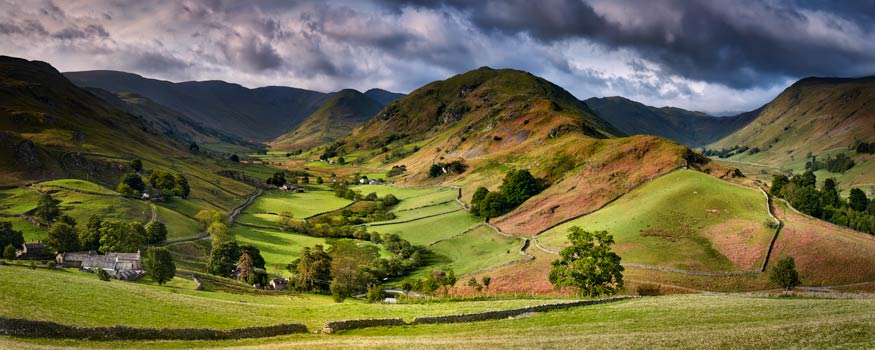 The Martindale Valleys - Canvas Print