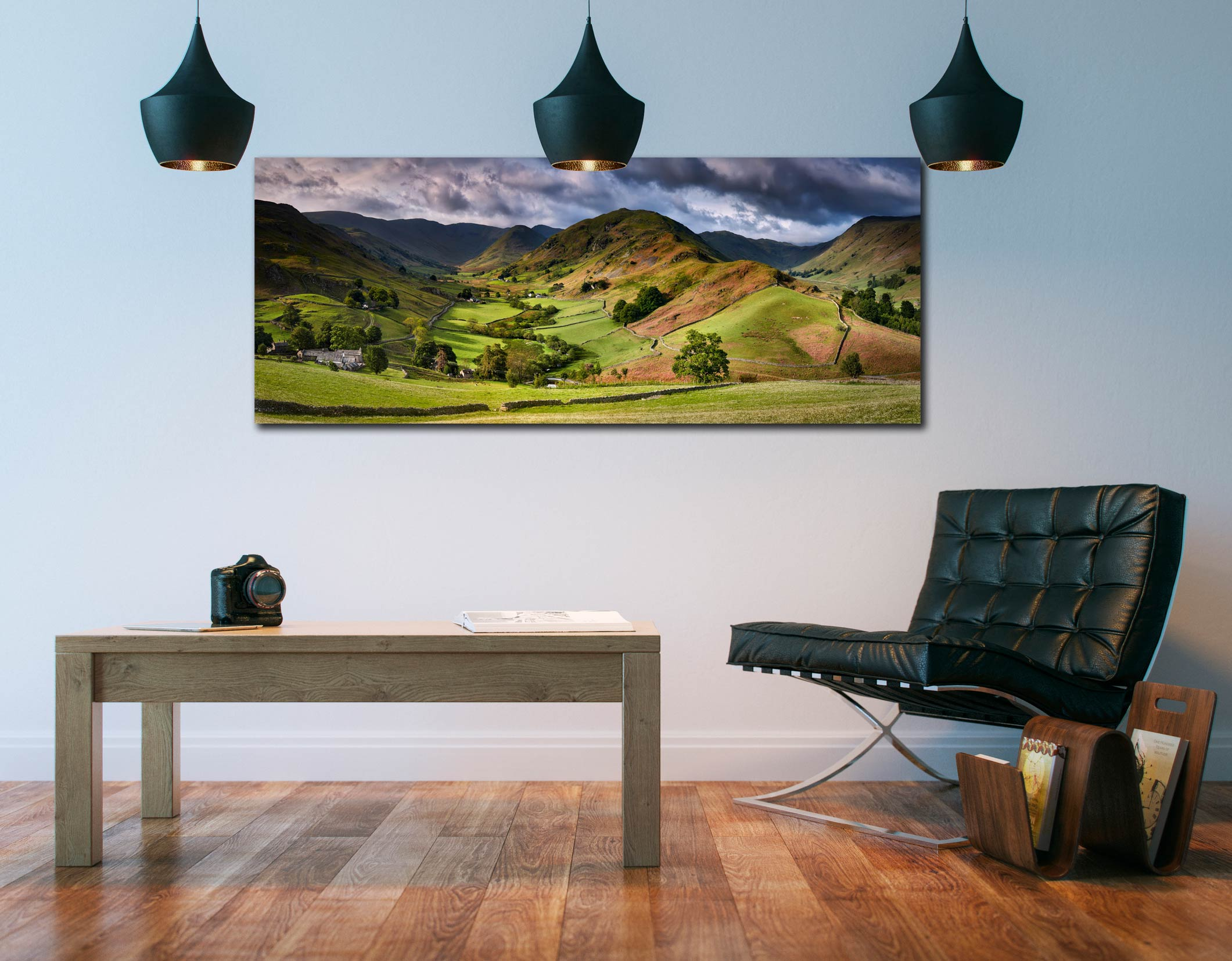 The Martindale Valleys - Canvas Print on Wall