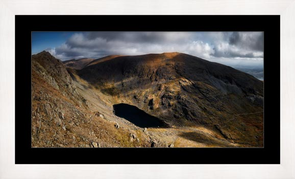 Goats Water and Coniston Old Man - Framed Print with Mount