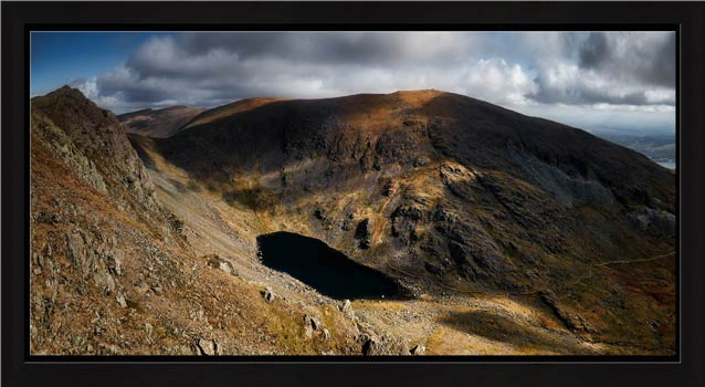 Goats Water and Coniston Old Man - Modern Print