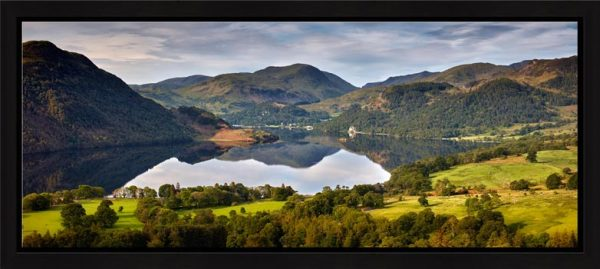 Ullswater Morning Reflections - Framed Print with Mount