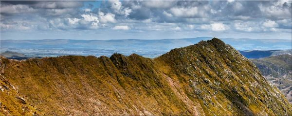 Striding Edge - Canvas Print