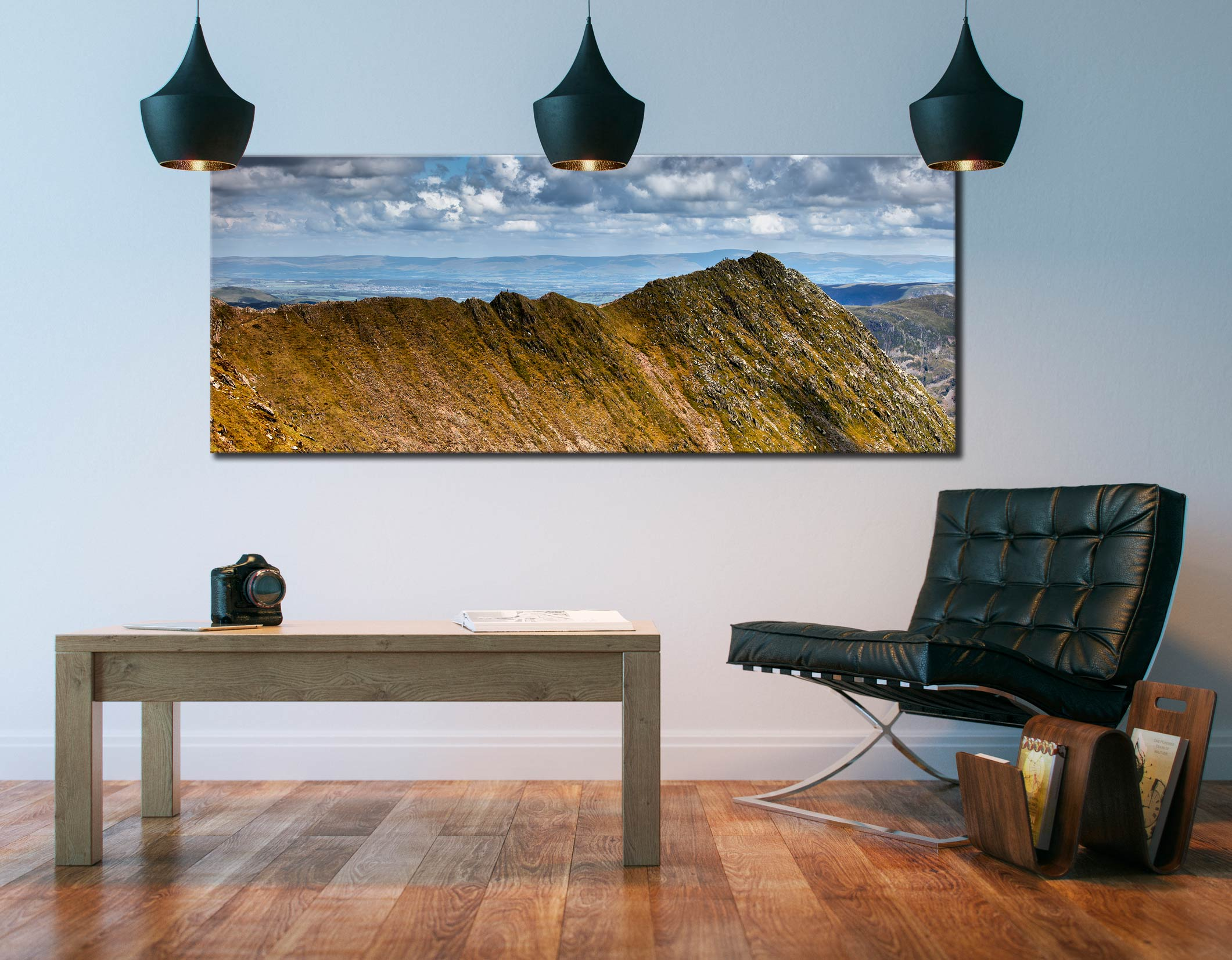 Striding Edge - Canvas Print on Wall