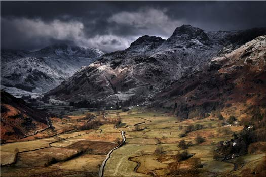 Path To The Pikes - Lake District Canvas