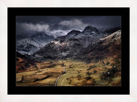 Path To The Pikes - Framed Print with Mount
