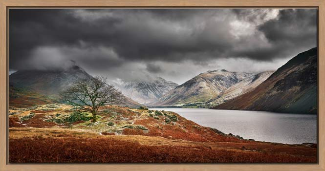 Winter Colours of Wast Water - Modern Print