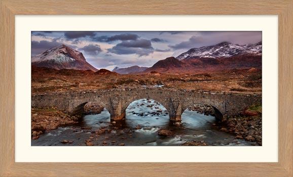 Glen Sligachan Bridge - Framed Print with Mount