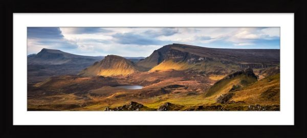 Cleat and Dun Dubh Quiraing - Framed Print with Mount