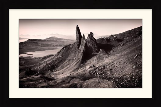 The Storr Isle of Skye - Framed Print with Mount