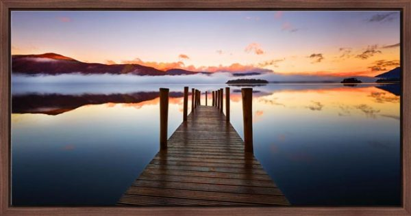 Ashness Jetty Dawn - Modern Print