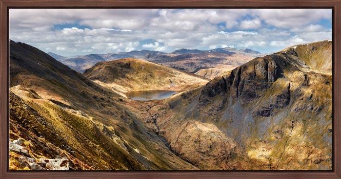 Grisedale Tarn Panorama - Modern Print