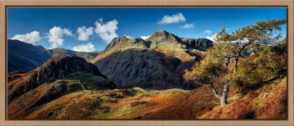 Langdales and Side Pike - Floating Frame