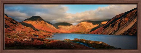 Wast Water Late Sun - Floating Frame
