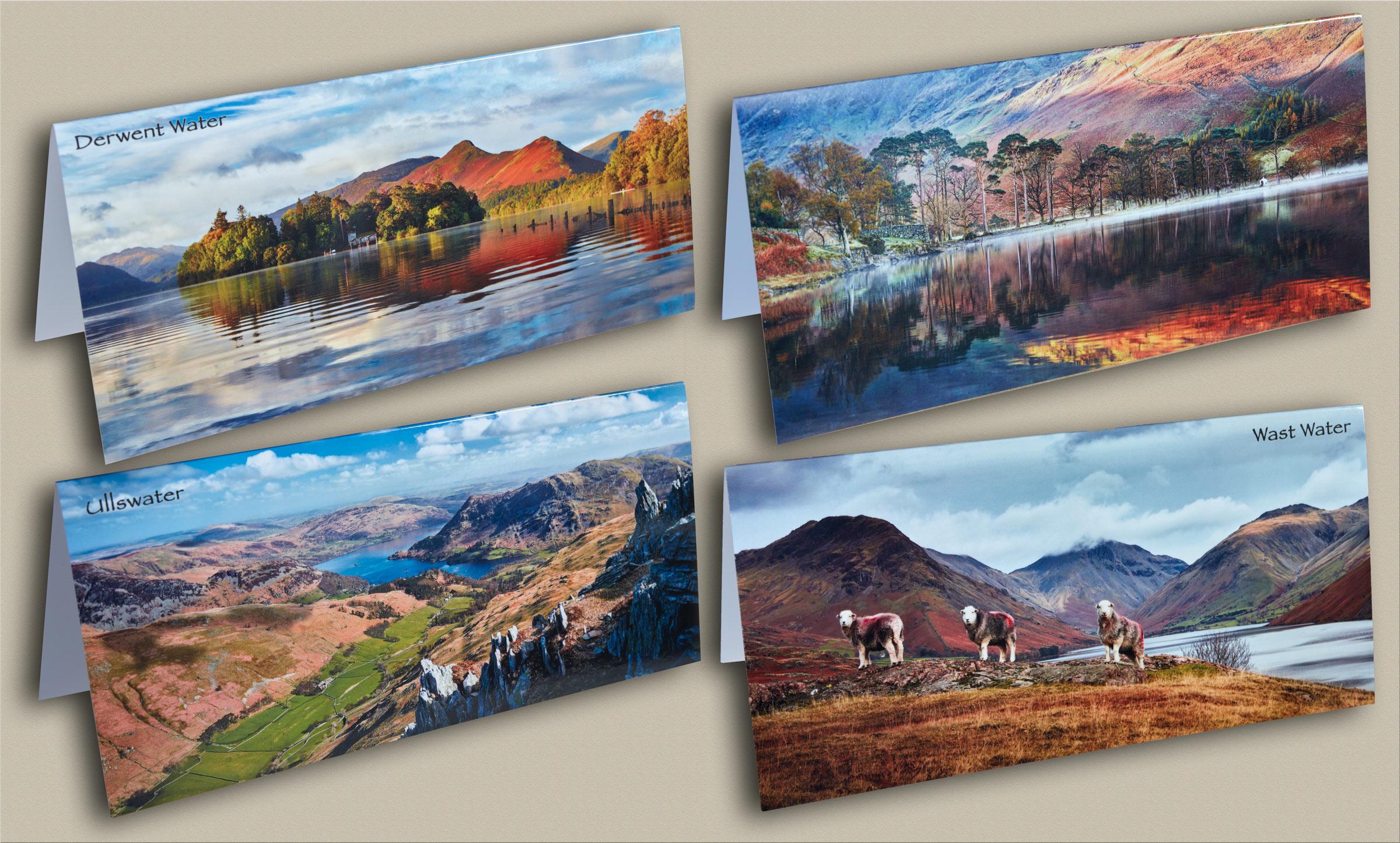 Derwent Water Panorama Canvas