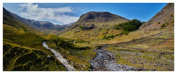 Seathwaite Valley - Lake District Print