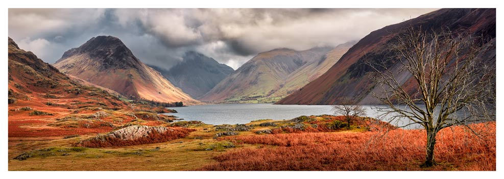 Autumn Ends at Wast Water - Prints of Lake District