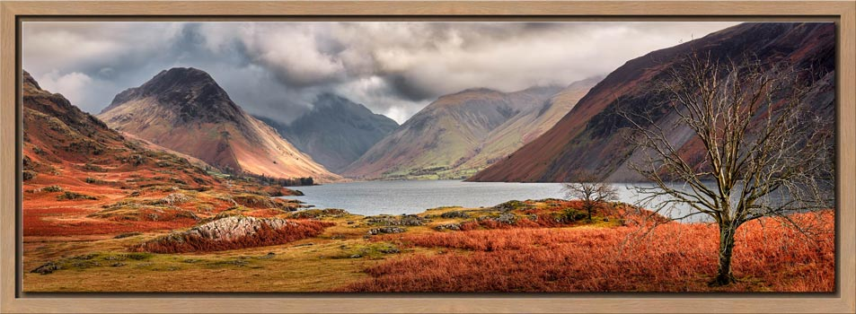 Autumn Ends at Wast Water - Modern Print