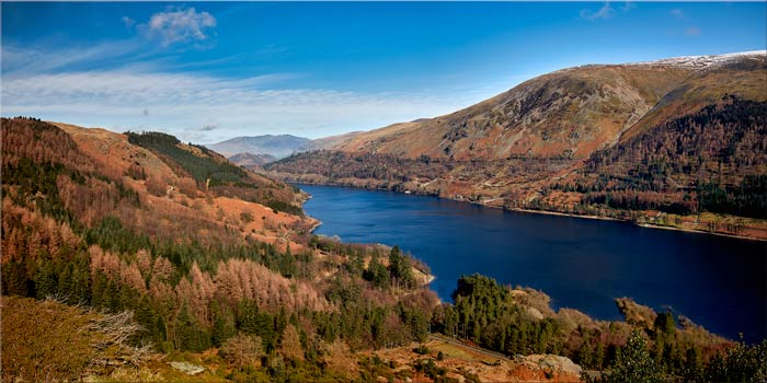 Autumn at Thirlmere - Canvas Print