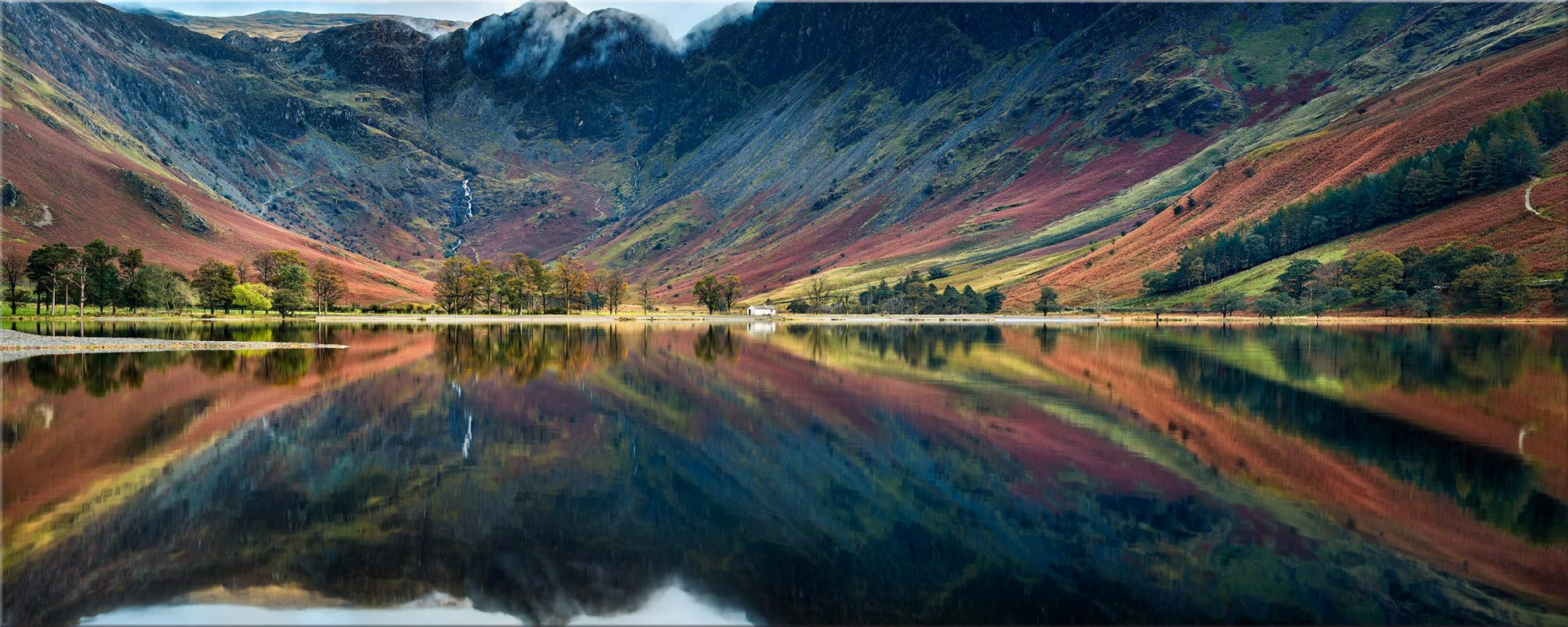 Buttermere Reflections - Canvas Print