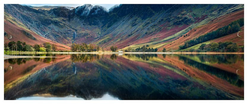 Buttermere Reflections - Lake District Print