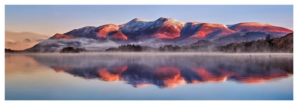 Skiddaw Reflection - Prints of Lake District