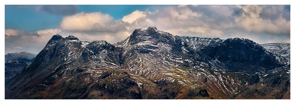 The Langdales and Pavey Ark - Prints of Lake District